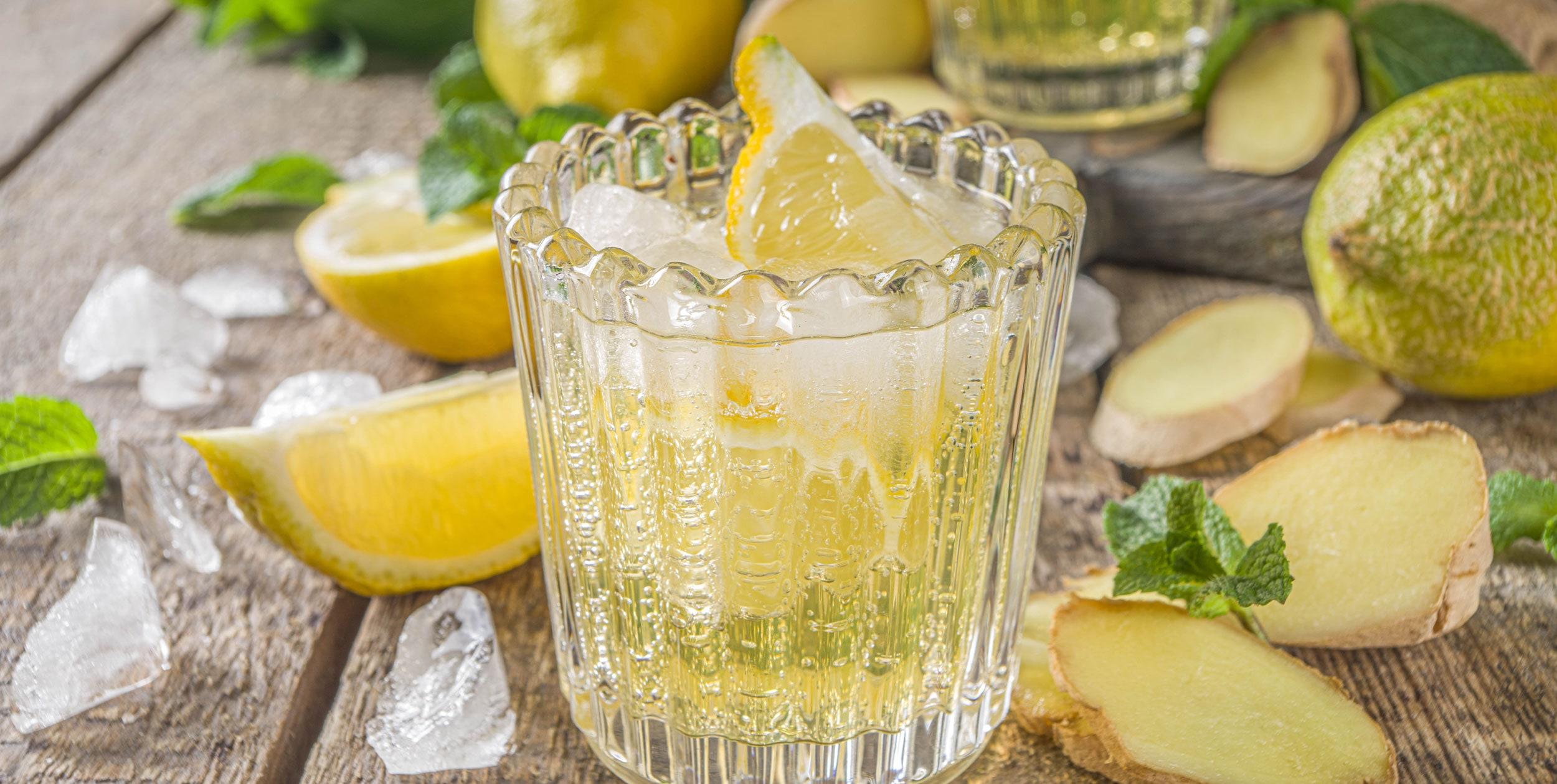 zitronen ingwer limonade rezepte suchen. Black Bedroom Furniture Sets. Home Design Ideas