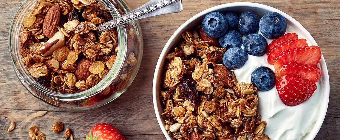 Thanks for the Granola – Müsliglück vom Blech