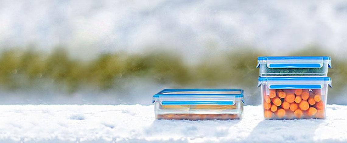 DIY: Den Kühlschrank im Winter auslagern